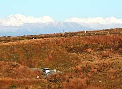 霧ヶ峰高原(2012年10月下旬)