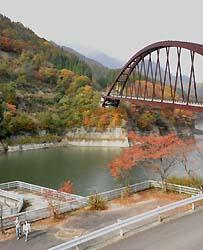 奥裾花渓谷(2015年10月下旬)