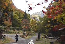角間渓谷(2016年10月下旬)